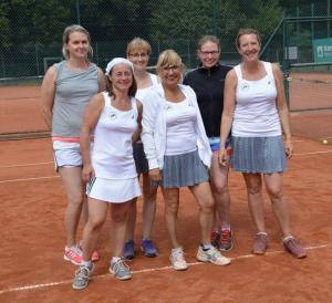 Damen Tennis Vizemeister